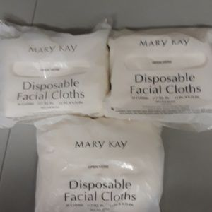 Lot of three packages of Mary Kay facial cloths